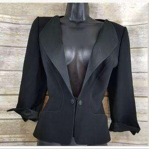 Thierry Mugler vtg blazer jacket black
